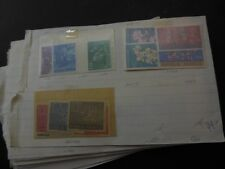 INDONESIA : Useful group of mostly Mint on Old Time approval pages. Catalog $338
