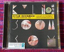Kylie Minogue ~ BoomBox ( Europe Press ) Cd
