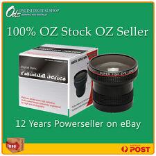 ODS Platinum 0.22x Fisheye Lens for 24mm, 28mm, 30mm, 34mm 35.5mm 37mm Camera