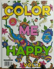 Color Me Happy Vol 2 Prints Ready to Frame Anti Stress Therapy FREE SHIPPING sb