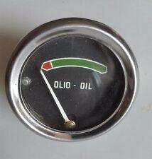 Manometro indicatore pressione olio meccanico VEGLIA BORLETTI (USATO) ORIGINALE