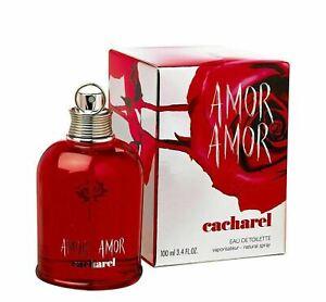 Cacharel Amor Amor Eau De Toilette EDT For Women 100 ml Spray New