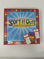 Sort It Out University Games Game of Putting Things In Order Age 12+ Complete
