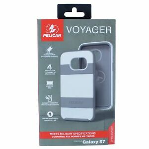 PELICAN VOYAGER CASE FOR SAMSUNG GALAXY S7 WHITE/GRAY SUPM46898 BRAND NEW