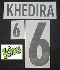 DFB Deutschland KHEDIRA Flock für adidas Home Kinder-Trikot EM2012-Qualif.WM2014