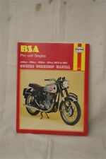 HAYNES WORKSHOP MANUAL FOR BSA PRE-UNIT SINGLES BIKES - 348cc-496cc-499cc-591cc