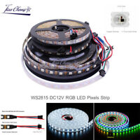 WS2815 DC12V RGB Pixels LED Strip Light Dual Signal Individual Addressable 5M