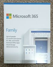 Microsoft (Office) 365 Family 12 Month Subscription Up To 6 People PC/MAC/Mobile