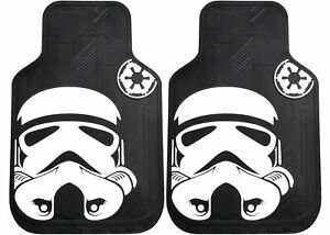 Plasticolor 001482R01 Front Floor Mats With Stormtrooper Logo New Free Shipping
