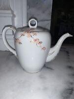 Fukagawa Arita Japan Teapot Maple Vintage 905 Fine China Mid Century Tea Pot