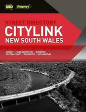 New South Wales CityLink Street Directory 28th ed by UBD Gregory's (Paperback, 2019)