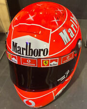 Michael Schumacher SIGNED Helmet comes with Certificate of Authenticity superb