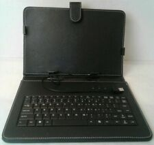 PU Leather Stand Case with USB 2.0 Keyboard for 10.1 Inch Tablet PC iPad Cover