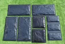 9 Plastic Molds for Concrete Plaster Wall Stone Cement Tiles CONCRETE MOULD #W18