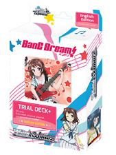 Weiss Schwarz BanG Dream! English TD+ New Sealed!