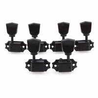 Black 3R3L Deluxe Guitar Tuning Pegs Keys Machine Heads Tuners for Gibson Style