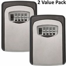 Realtor Wall Mount Key Lock Box with 4-Digit Combination