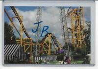 KENNYWOOD PARK-THE STEEL CURTAIN INVERSION ROLLER COASTER&SKYCOASTER~PITTSBURGH