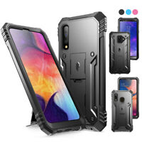 Galaxy A50 / A20 / A6 ,Poetic® [Dual Layer] Shockproof Hard Shell Case Cover
