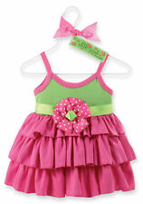 Mud Pie Ruffle Sprout Pink Sundress 12-18 Months