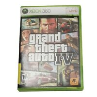 Microsoft Xbox 360 Grand Theft Auto IV Video Game (Complete, 2008)