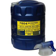 20 L MANNOL 7804 Scooter 2-Takt API TC Motorradöl Motoröl Mischöl + Auslaufhahn
