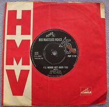 JOHNNY KIDD PIRATES I'll Never Get Over You UK HMV 1st R&B BEAT BLUES