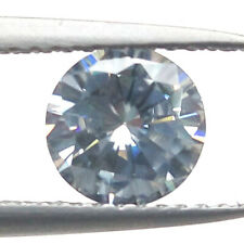 0.96 CTS 6MM VS2 G ROUND UNTREAT CARBON SILVER LAB CERTIFIED LOOSE DIAMOND