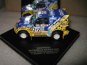 1/43 VITESSE / SKID MITSUBISHI PAJERO EVO RALLY GRANADA DAKAR 1999 212 #SKM99032