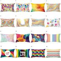 Geometric Pillowcase Cushion Cover Throw Pillows Case Pillowslip Sofa Home Decor
