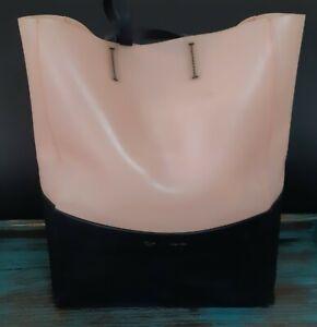 CÉLINE Leather PVC Tote Shoulder Bag