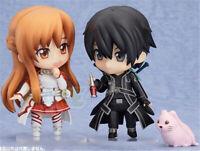 Sword Art Online Kirito AsunaYuuki PVC Figure Model 10cm