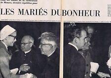 Coupure de presse Clipping 1956 Grace Kelly & le Prince Rainier (6 pages)