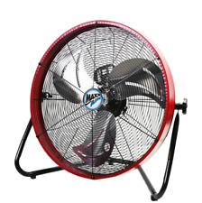 Shop Fan Heavy Duty Fans Electric Garage Commercial Large Portable Gym Home