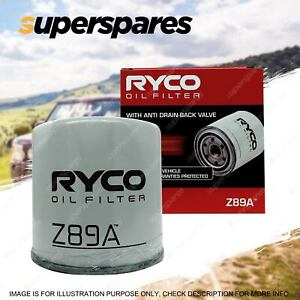 Ryco Oil Filter for Fiat Regata 100 100S 70 70S 70ES 75 SUPER 85 85 SUPER 90