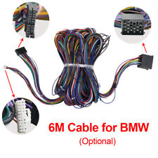 6M Long Power Cable for BMW Extension Radio Audio Head Unit For BMW E39 X5
