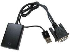 Newlink-VGA a HDMI Convertidor con Audio y USB Power