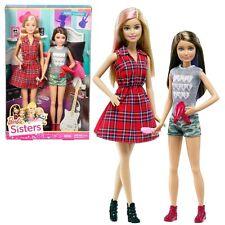 Barbie - Family 2-Pack Dolls Sisters Barbie & Skipper