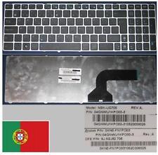 Clavier Qwerty PO Portugais ASUS G60 G72 G73 NSK-UG706 9J.N2J82.706 Black/Silver