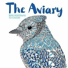NEW - The Aviary: Bird Portraits to Color