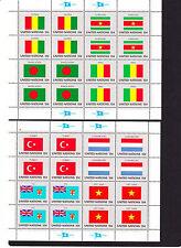UNO Flaggen 1980 ( Mi. Nr. 348-363) Postfrisch  aus ABO-Lieferung, siehe Scan