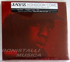 JAY-Z - KINGDOM COME - CD + DVD Deluxe Limited Edition Sigillato