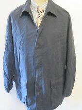 "Genuine Burberry Blue Cotton Jacket / Coat Size 40"" Euro 50"