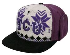 buy popular eaba2 6d4cb Texas Christian Horned Frogs TCU NCAA Ugly Sweater Strapback Hat Cap