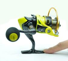 Small 12+1 BB Fishing Reel Spinning Wheel Water Drop Wheel WR1000 Yellow