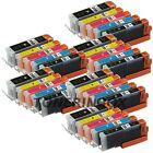 30 Pk PGI250XL CLI251XL Ink Set For Canon Pixma MG5420 MG5520 MG6320 MX722 MX922