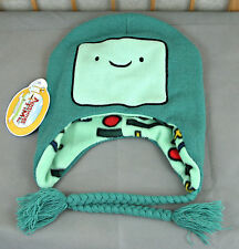 NWT Adventure Time Beemo BMO Laplander Hat Beanie Cold Weather Cartoon Network