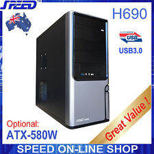 SPEED H690 USB3.0 PC Tower Case for Office or Gaming and a optional PSU only $25