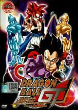 DVD Dragon Ball GT Complete TV 1-64End English Dubbed All Region + FREE SHIPPING
