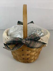 Scented Votive Gift Basket Green Basket W/ 7 Votive Candles